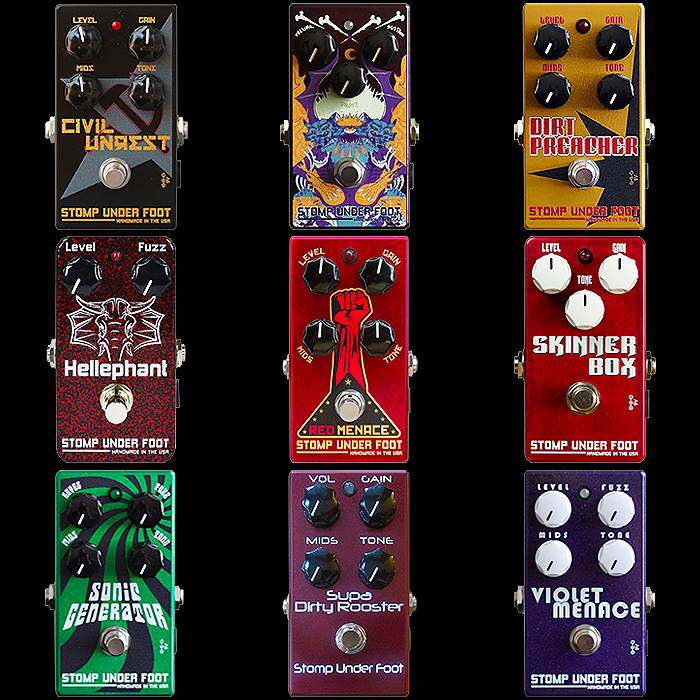 9 of the Best Stomp Under Foot Fuzz Pedals