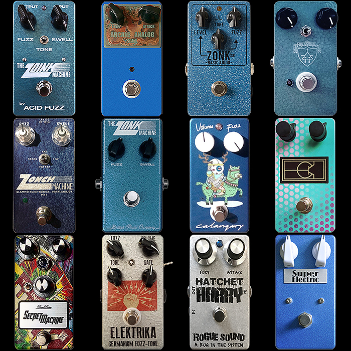 12 of the Best Compact Enclosure Zonk Machine Style Fuzz Pedals