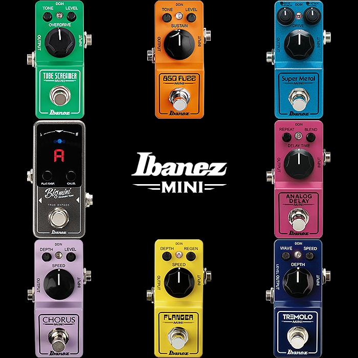 In Praise of Ibanez Analog Mini Pedals