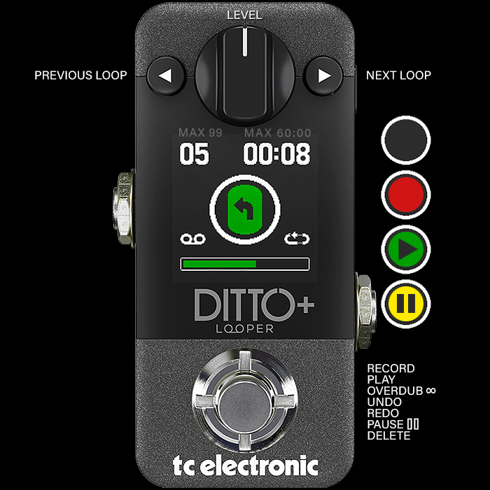 TC Electronic Extends Mini Looper Supremacy with its New Ditto+