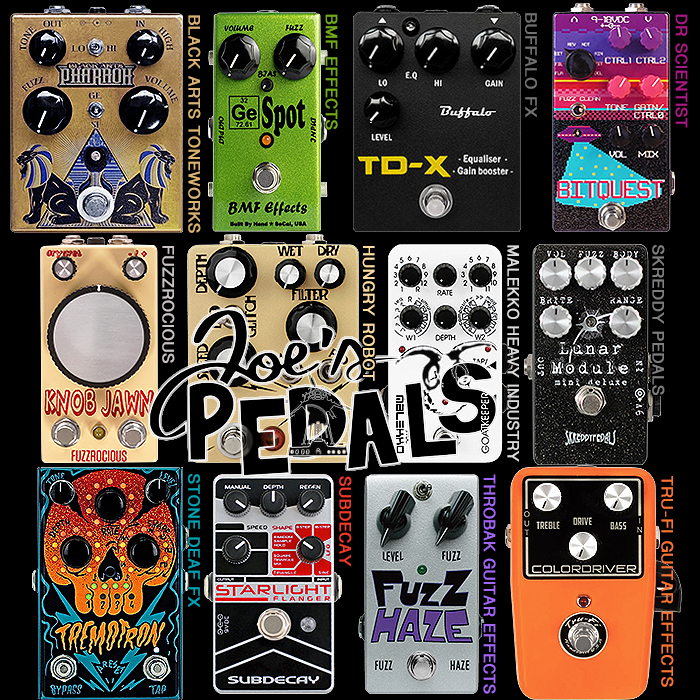 All you ever wanted to know about the UK's Preeminent Independent Pedal Boutique - Joe's Pedals