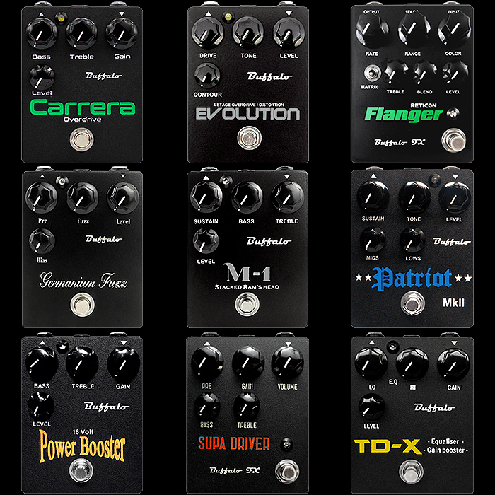 9 of the Best Steve Painter Buffalo FX Pedals