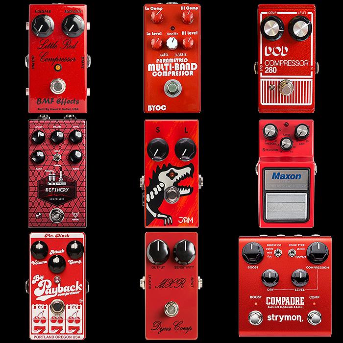 #9 : Compressor - Red