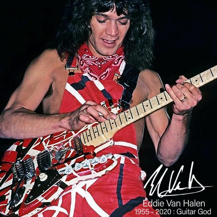 Edward Lodewijk Van Halen In Memoriam : 1955 - 2020