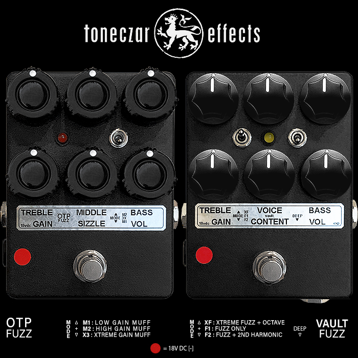 Toneczar Ed Rembold's Two Essential Secret Weapon Extended-Range Fuzzes - the OTP and Vault