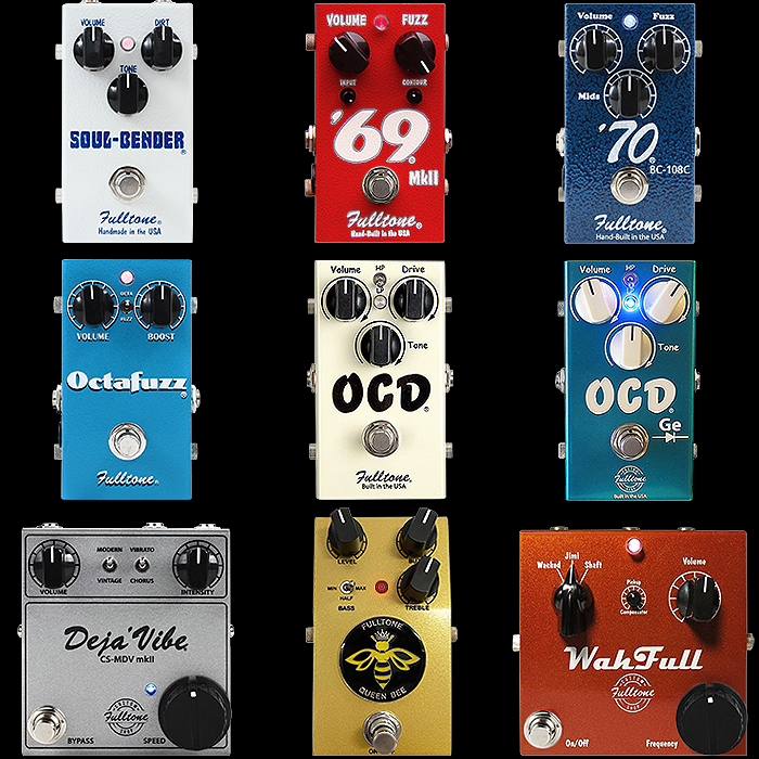 9 of Mike Fuller's Best Fulltone Pedals