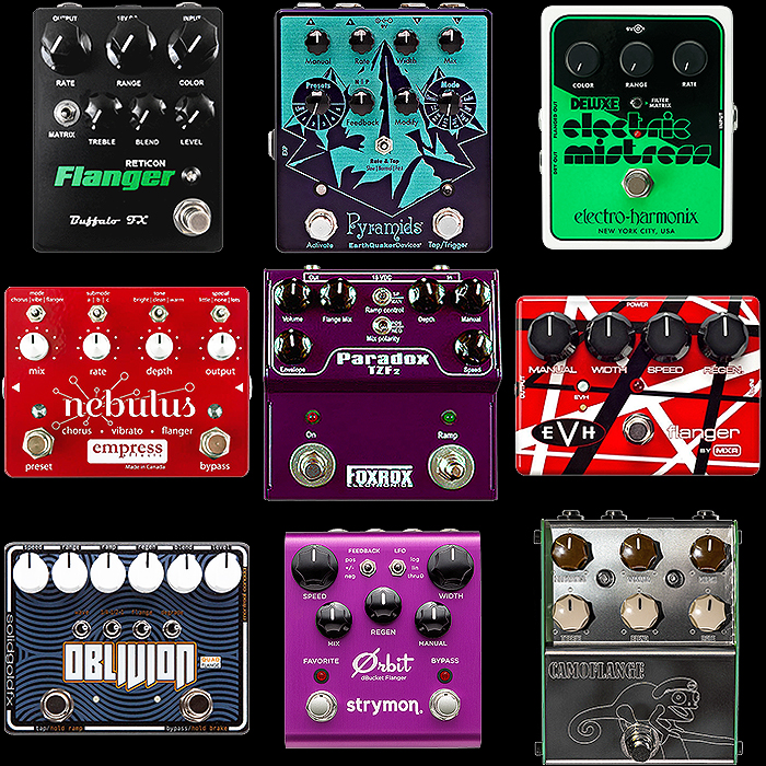 9 of the Best Medium Enclosure Flanger Pedals
