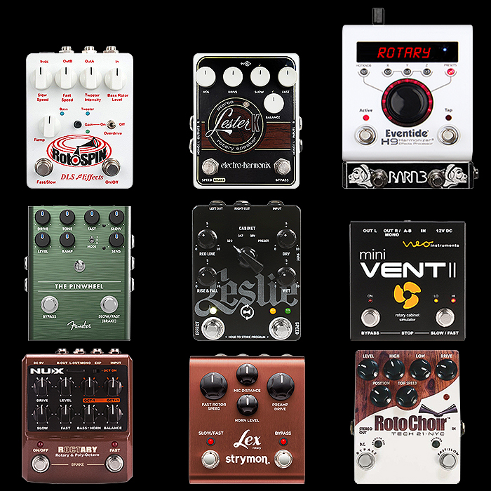 9 of the Best Medium Enclosure Stereo Rotary Speaker / Leslie Effect Pedals