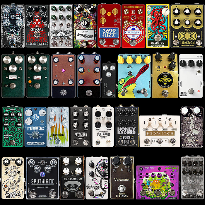 2020 Best of New Fuzz Pedals for the Year