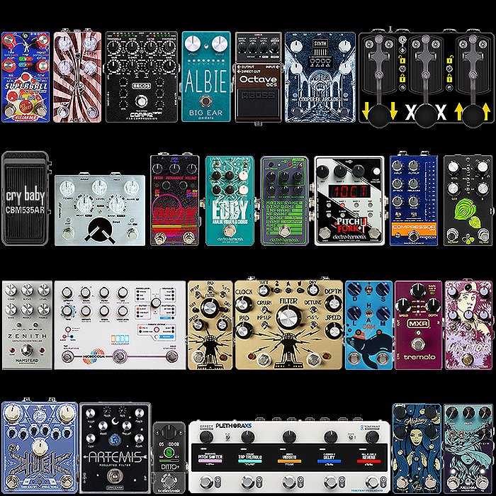 2020 Best of New Modulation, Pitch and Utility Pedals for the Year