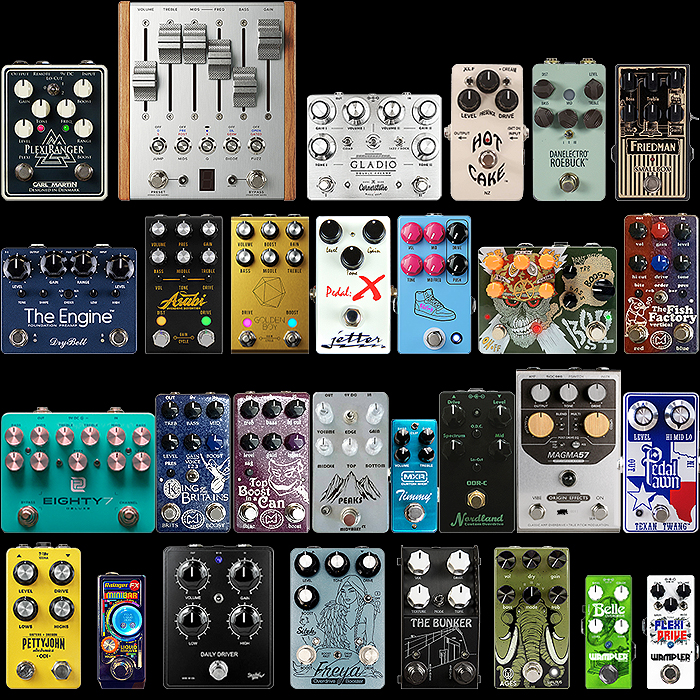 2020 Best of New Overdrive and Distortion Pedals for the Year