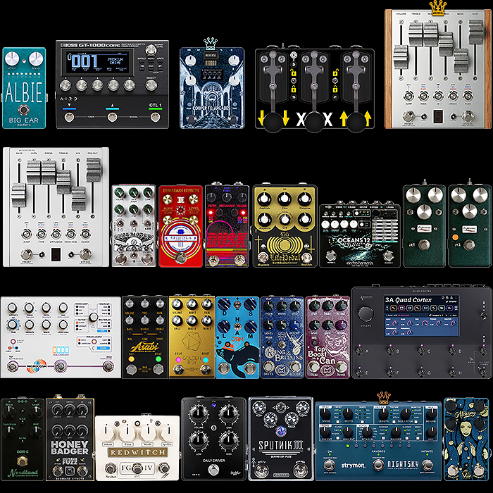 2020 Best of the Best New Guitar Pedals of the Year