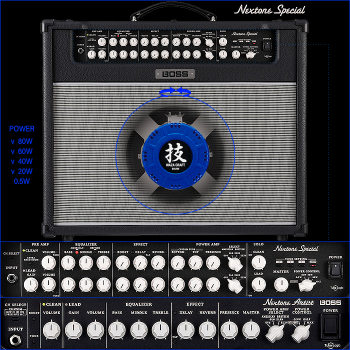 Boss Releases Refined and Evolved Nextone Special 2-Channel Amp with Extra Controls and Brand New B12 Waza Craft Speaker