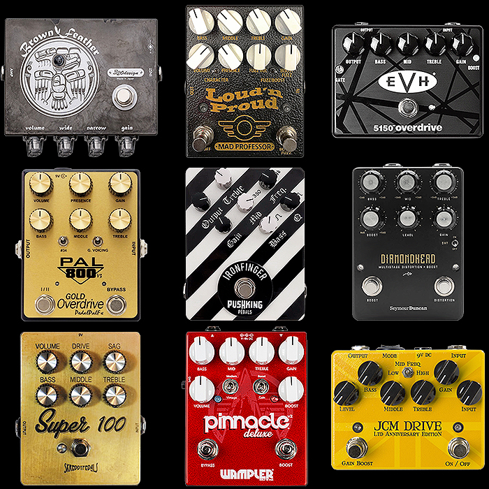 9 of the Best Medium Enclosure EVH Brown Sound Capable Distortion Pedals