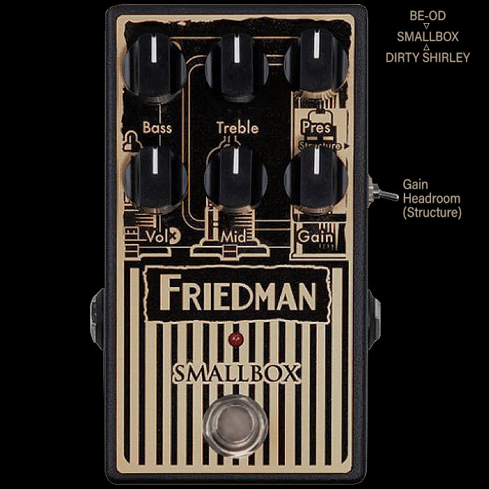 Dave Friedman Finally Releases Compact Smallbox Overdrive/Distortion Pedal which was first teased at this year's Winter NAMM
