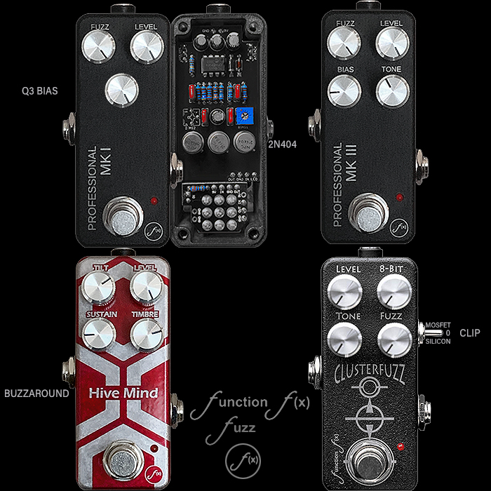 And then there were 4! - Dave Friesema of Function F(x) still delivering the Mini Fuzz Delights