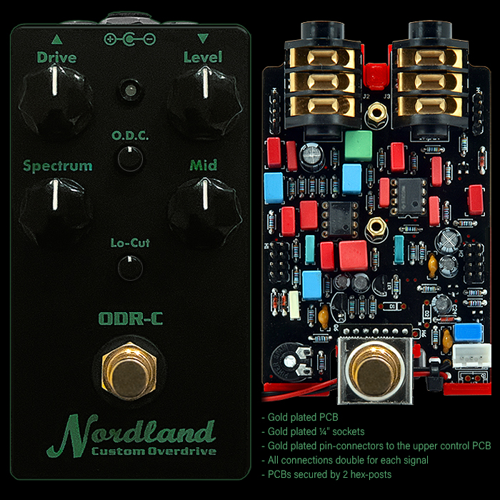 Kai Tachibana's Nordland Electronics ODR-C is the most evolved and refined of the Nobels ODR Circuits and the Successor to the ODR-1