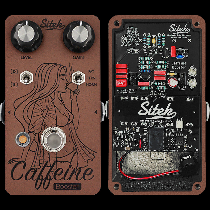 Sitek's New and Improved Caffeine V2 Dirty Booster is the Perfect Dynamic Playback Amp Conditioner