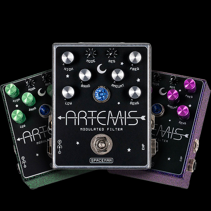 Spaceman Effects Launches Highly Controllable 7-Mode Artemis Variable-State Modulated Filter