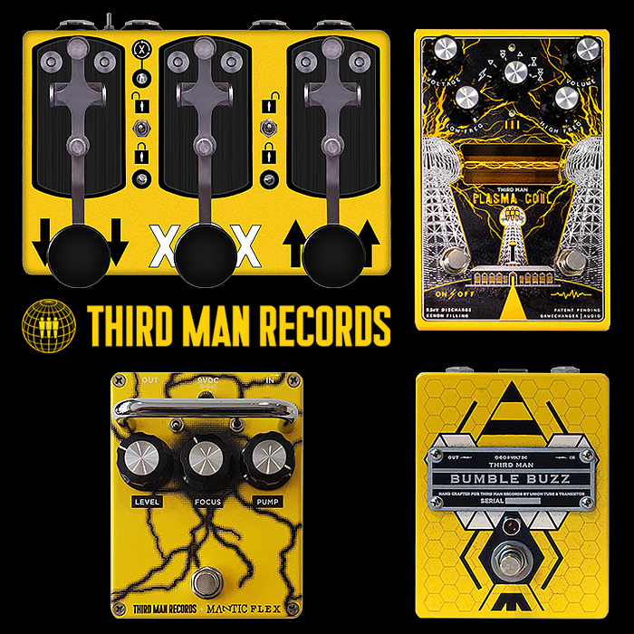 Jack White's Third Man Records Pedal Collaborations