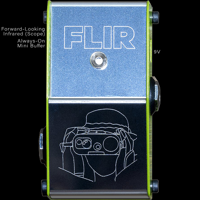 ThorpyFX Reveals Tiny Baby Always-on FLIR Buffer Pedal in Miniaturised Enclosure