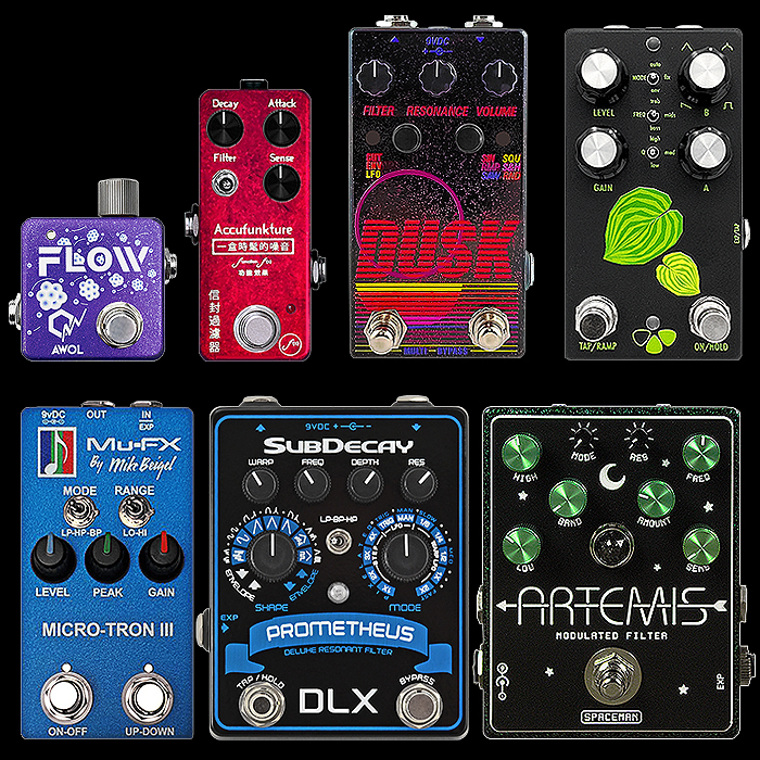 Preferred Filter Pedal Selection - at the key practical enclosure sizes