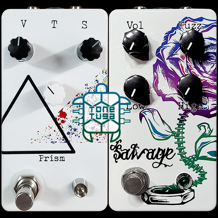 Mike Verala Adds a Second Killer Fuzz to the ToneTuga FX Range - the Salvage Fuzz - made from spare parts!
