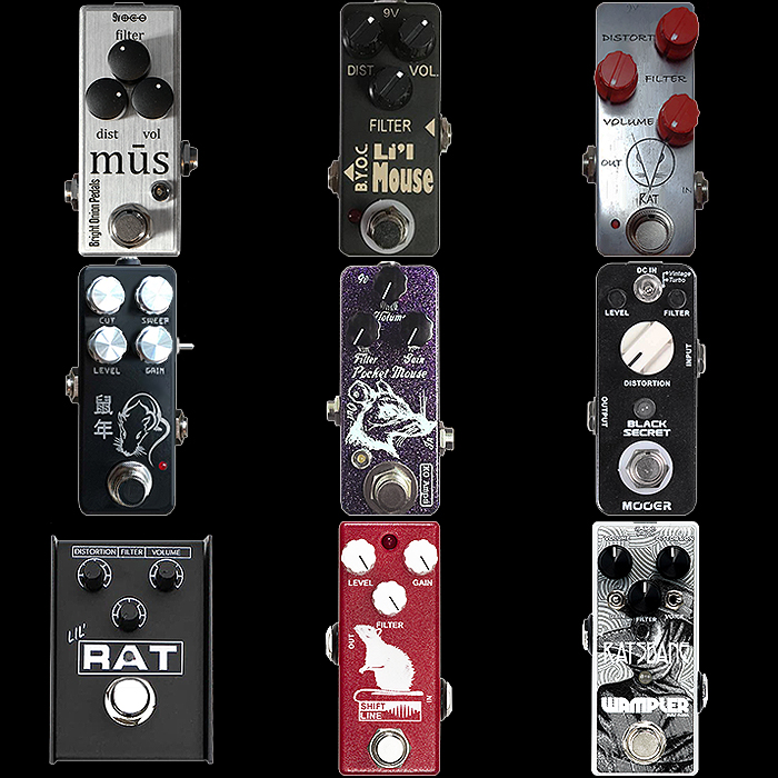 9 of the Best Mini Rat-Style Distortion Pedals