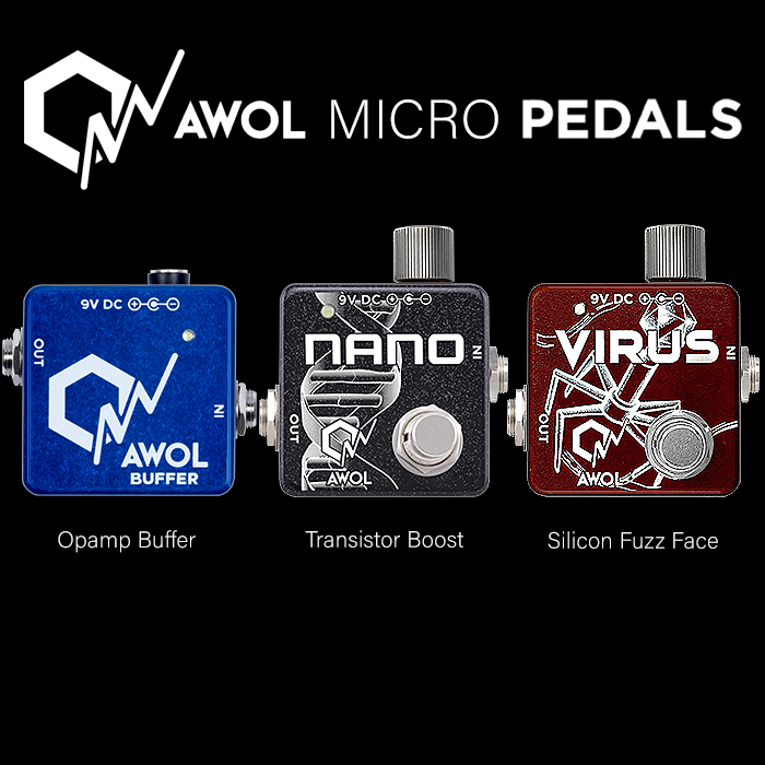 AWOL Pedals' Aaron Wahl is Master of the Micro Enclosure Format