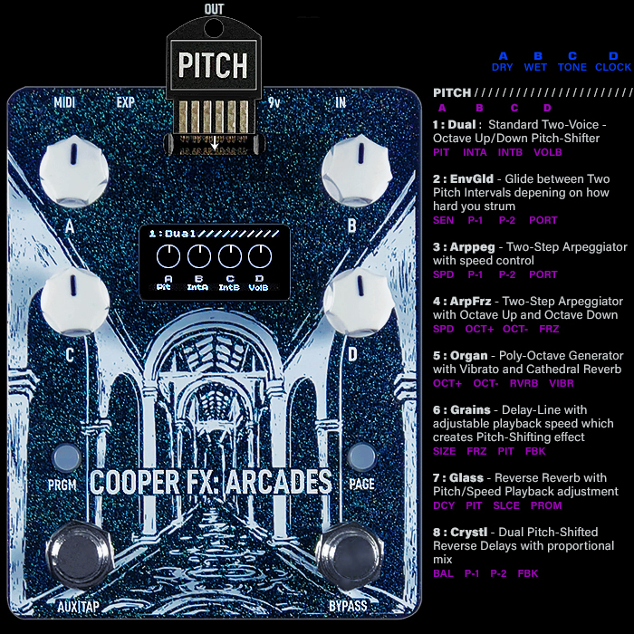Cooper FX Arcades Modular Multi-FX Workstation : Card Spotlight Series #8 : PITCH