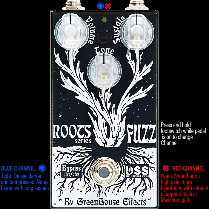 Greenhouse Effects Delivers Innovative Dual Switching Roots Fuzz