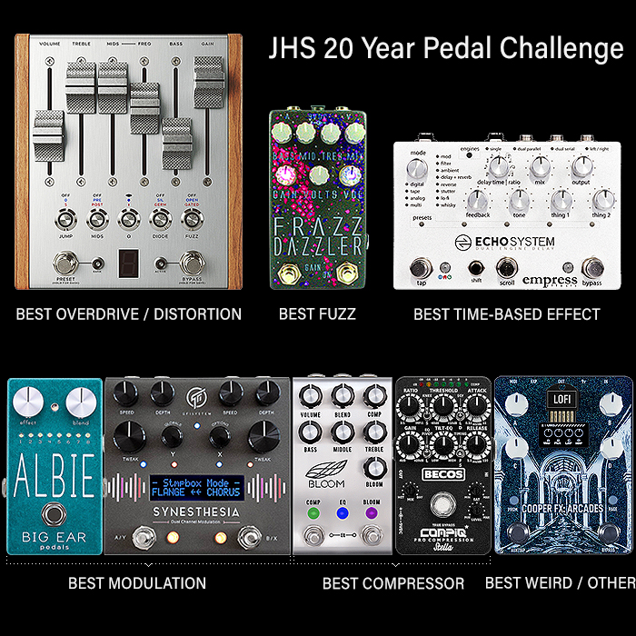 JHS 20 Year Pedal Challenge