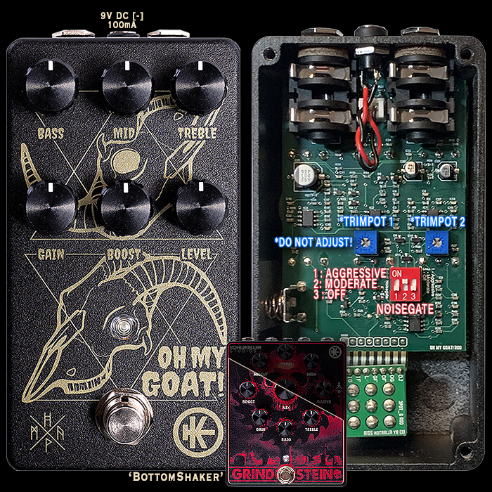 Klirrton Manufaktur Oh My Goat! Devil's Distortion Really Delivers on those Brutal BottomShaker Tones