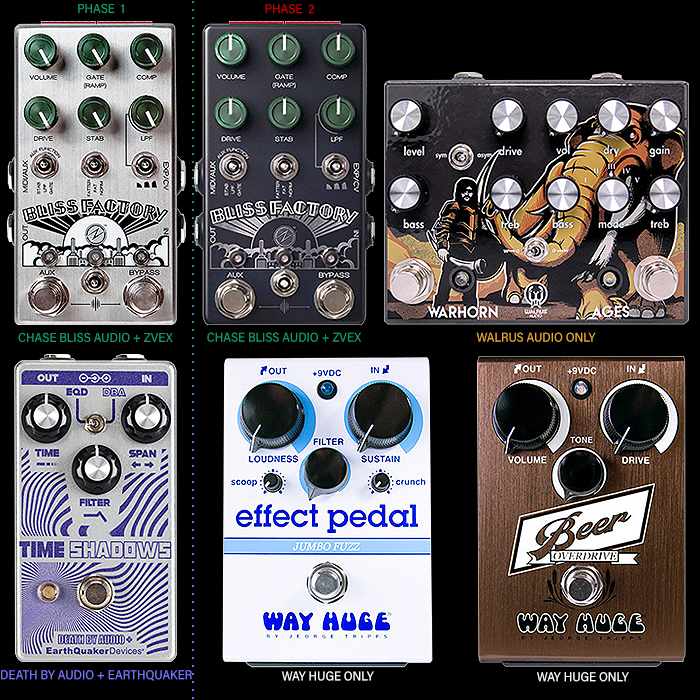 Second Phase of Pedal Movie Tie-ins delivers somewhat Odd Assortment!