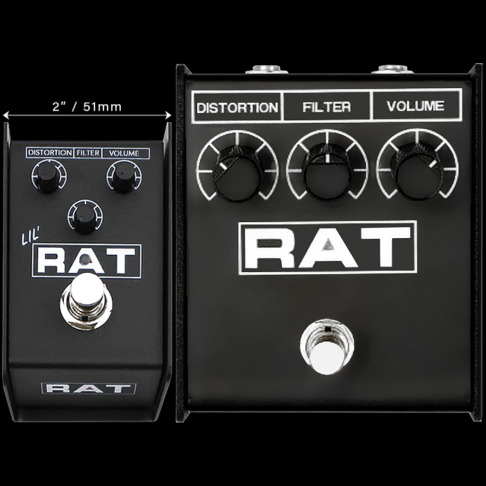 Rat Distortion / ProCo Teases Lil' Rat Mini Edition