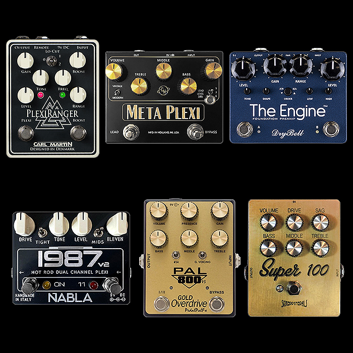 6 Cool Recent Medium Enclosure Plexi Pedals