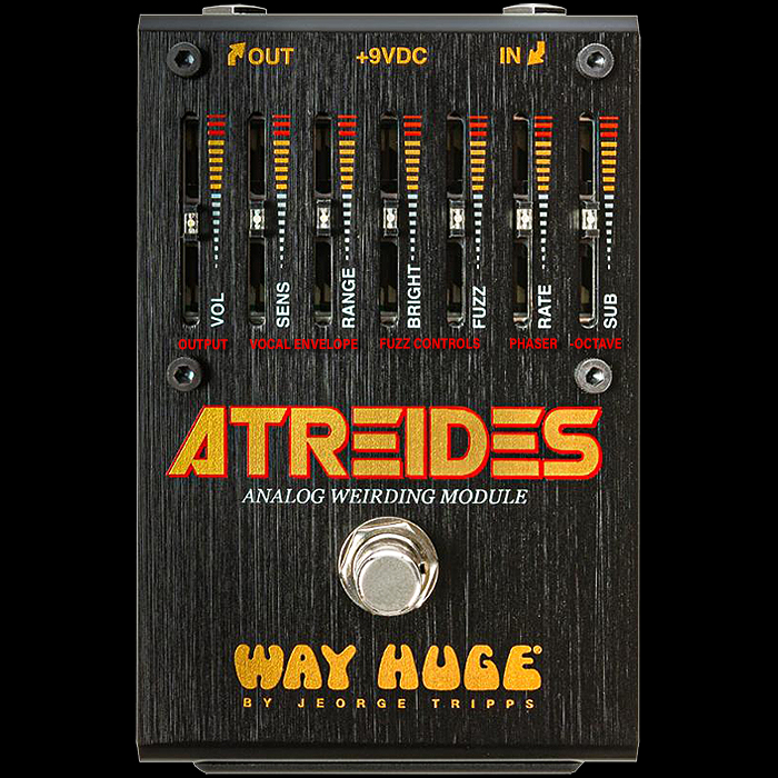 Jeorge Tripps' Way Huge Electronics has surely released the most Thematically Perfect Concept Pedal for the Year - The Atreides Analog Weirding Module Synth-Fuzz