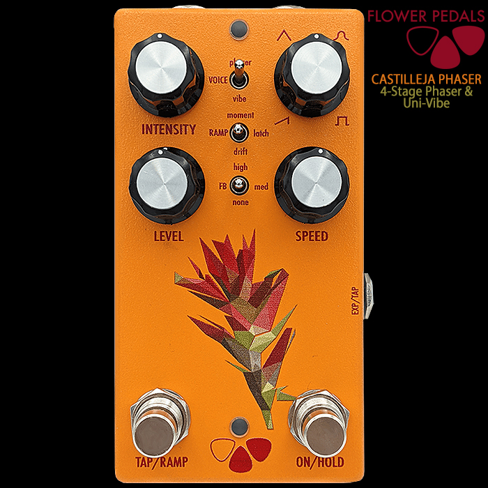 Matt Kauffman's Flower Pedals Delivers Really Smart Castilleja 2-voice Phaser