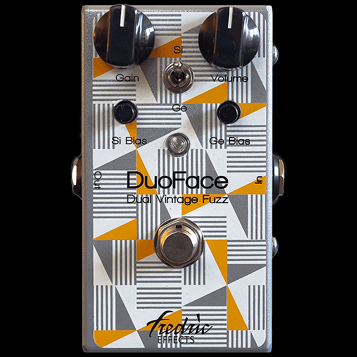 Fredric Effects Releases Smart Germanium/Silicon Switching DuoFace - Dual-Circuit Fuzz Face Style Fuzz