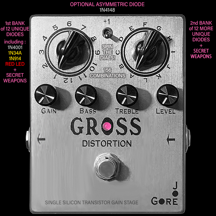 Joe Gore's Gross Distortion is a somewhat Overlooked but Compelling and Inspiring Serendipitous Studio Gain Texture Generator Tool
