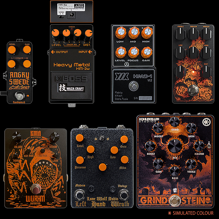 Black and Orange HM-2 Style Distortion Target Capsule Collection in honour of the imminent Boss HM-2W Waza Craft Launch