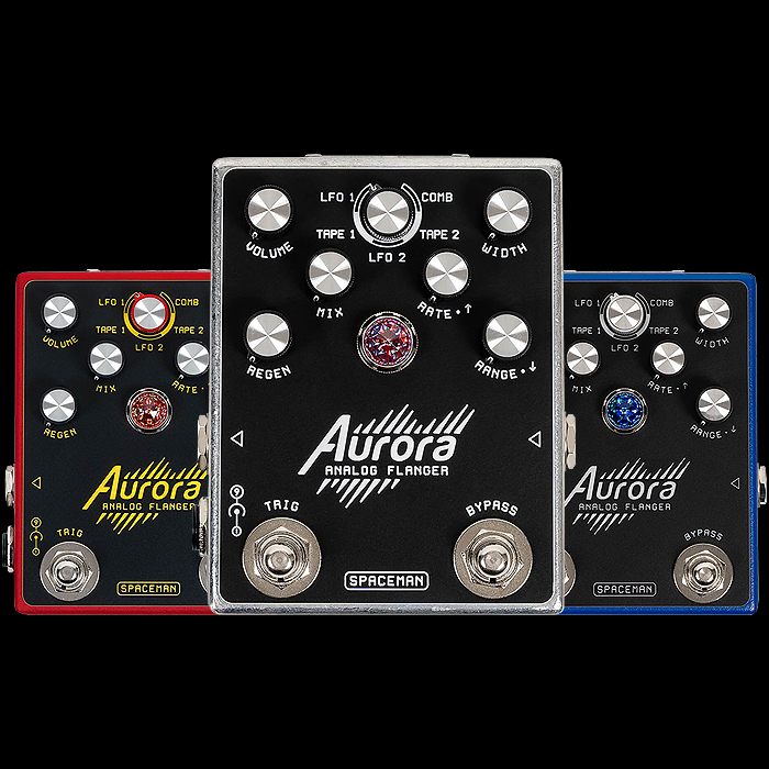 Spaceman Effects Releases the Smart Multi-Mode Aurora Analog Flanger