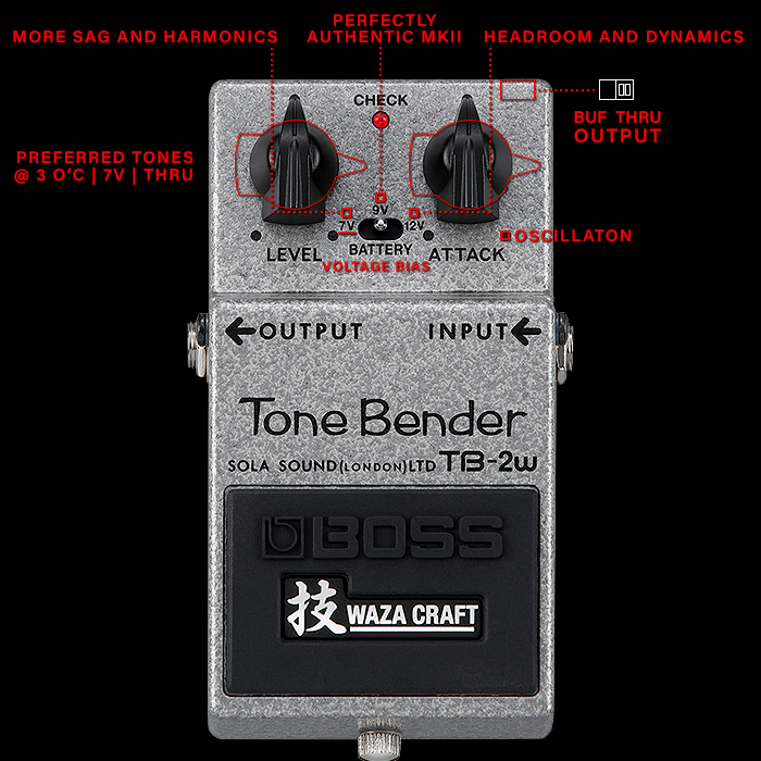 The Boss TB-2W Tone Bender Waza Craft Fuzz has landed - Reactions and First Impressions