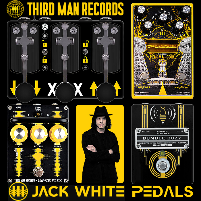 The 4 Jack White Signature Pedals