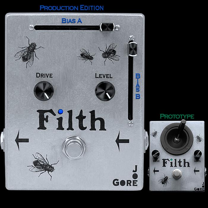 Joe Gore's Bias-Slider Filth Fuzz is a Super-Versatile and Dynamic Fuzz Delight