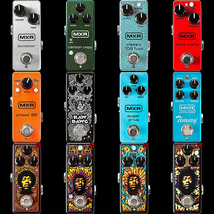MXR's Formidable Mini Guitar Pedal Range