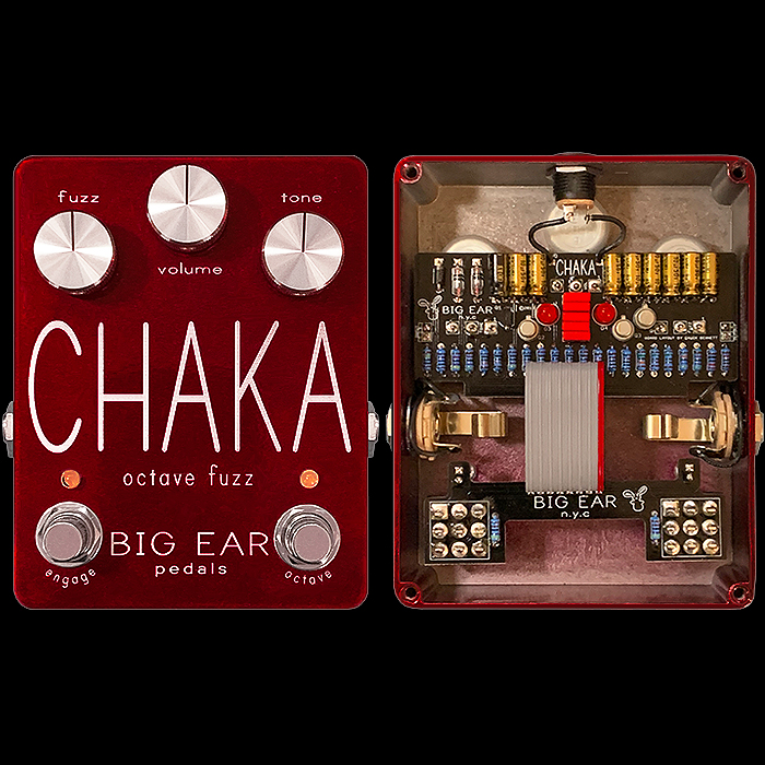 Big Ear Pedals' Chaka Octave Fuzz is an Unsung Classic of that Genre