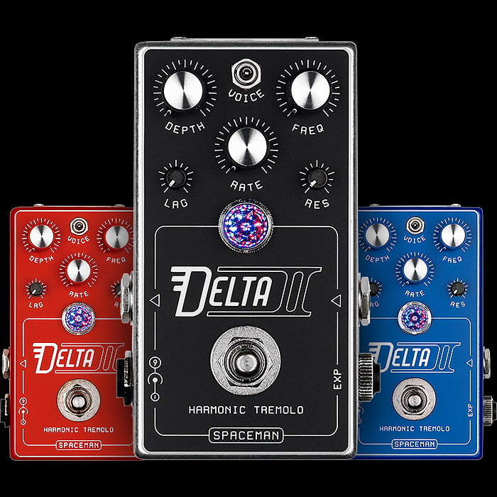 Spaceman Effects follows up its Voyager I with the compact Delta II Harmonic Tremolo