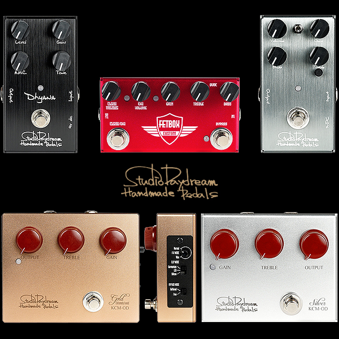 A Brief Overview of Japan's Studio Daydream Handmade Pedals