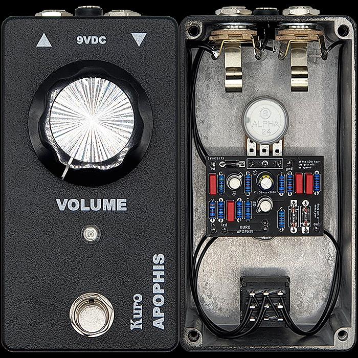 Kuro Custom Audio Unveils its Menacing Single-Knob Apophis BC109 Fuzz - tempered by Rare Germanium Diodes